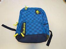 SkullCandy RARE bookbag backpack SCSC1000 blue holds laptop cord port book bag