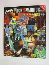 KNEX  Mechwarrior Cauldron-Born & Owens - 12533 -  BRAND NEW    FACTORY SEALED