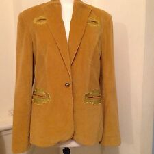 Versace Vintage Jacket With Iconic Buttons Velvet Fabric