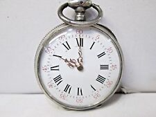 Antique 800 Silver Non-Running Pocket Watch