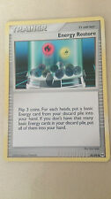 Energy Restore Pokemon Card UNCOMMON Trainer