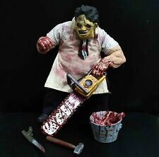 "Mezco The Texas Chainsaw Massacre Leatherface action figure 8"" loose #skj8"
