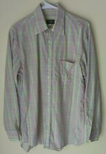 Paul & Shark Shirt * Men's M * Bright Multicolor Check * Made in Italy