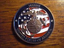 USMC ONE NATION UNDER GOD. (CHALLENGE COIN)
