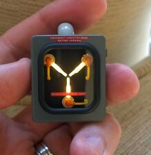 Back to the Future Flux Capacitor. Stainless Steel Edition . With Fluxing LEDS