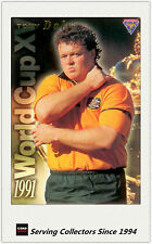 1995 Australia Rugby Union Trading Cards WORLD CUP XV WC1: Tony Daly
