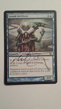 Synod Artificer Darksteel Set Signed by Mark Zug  MTG