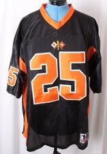a26513c15db Battlefield Collection Black US Army 25 Signal Corp Football Jersey Mens 2xl