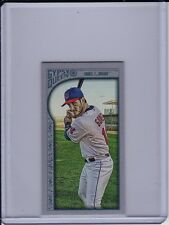 YAN GOMES 2015 Topps Gypsy Queen SILVER MINI #'d /199 Cleveland Indians Parallel
