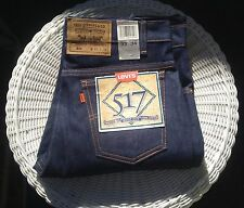 Levis Men 517 Vintage Deadstock 34x34 Orange Tab USA Cone Mills Denim Levi Jeans