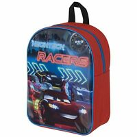 DISNEY CARS 'NEON' BACKPACK RUCKSACK SCHOOL BAG NEW OFFICIAL