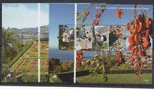 Madeira 2010 Foglietto Bf 46-47 Cinquantenario del giardino botanico Mnh