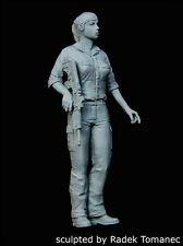 Black Dog 1/35 IDF Israeli Woman Soldier No.1 with Rifle [Resin Figure] F35089