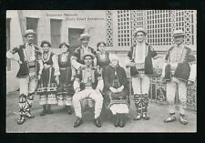 EARLS COURT Exhibition Bulgarian Peasants 1903 PPC