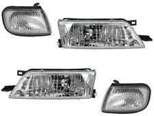 Headlight Headlamp Corner Light Lamp Kit Set for 97-99 Nissan Maxima