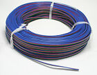 5M 4pin Cable Wire Extension Cord For 3528/5050 SMD Light Strips 22AWG 300V