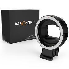 K&F Concept Auto Focus Canon EOS EF mount lens Adapter Ring to Sony NEX A7 A7R