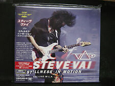 STEVE VAI Stillness In Motion-Live In Los Angeles BSCD2 JAPAN 2CD Whitesnake