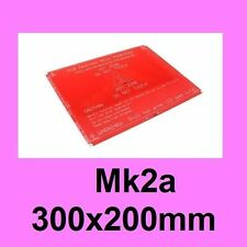 MK2A 300x200 mm PCB Heated Hot Bed for RepRap 3D Printer Prusa i3 Upgrade