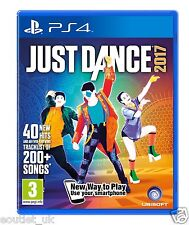 Just Dance 2017 for PlayStation 4 PS4 DANCE GAME BRAND NEW & SEALED