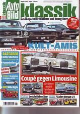 Auto Bild Klassik 8/12 Mercedes W111/Ford Mustang/Chevy Camaro/Dodge Challanger