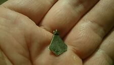 Lovely rare Viking Solid Silver axe head pendant missing loop 1.08g