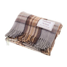 EDINBURGH - SCOTTISH 100% WOOL TARTAN RUG / BLANKET / THROW - MACKELLAR