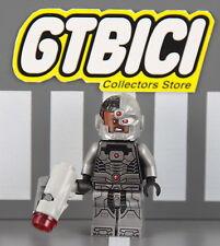 LEGO SUPER EROI DC  MINIFIGURE  `` CYBORG  ´´ Rif 76028  100X100 ORIGINALE
