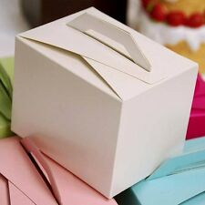 100 White Tote Wedding Favors Party Gift BOXES Cheap Cute Wedding Decorations