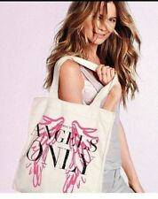 Brand New with Tag VS Canvas Tote Bag Victoria's Secret Angels Only Retail $40
