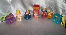 RARE 1990s Taco Bell Fast Food CARTOON NETWORK 7-Piece COW & CHICKEN Toys Set