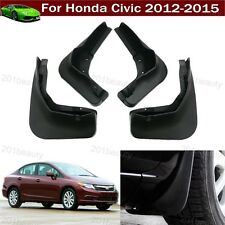 New Car Mud Flap Splash Guard Fender Mudguard Mudflap For Honda Civic 2012-2015