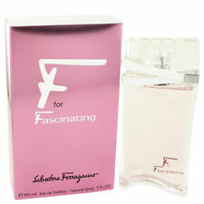 F for FASCINATING by Salvatore Ferragamo for women 3.0 oz edt New in Box