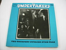 UNDERTAKERS - THE GREATEST STORIES EVER TOLD - LP VINYL 1985 EXCELLENT