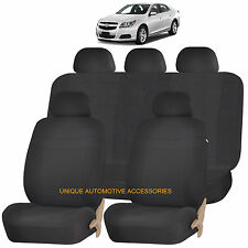BLACK ELEGANCE AIRBAG COMPATIBLE SEAT COVER for CHEVROLET CRUZE IMPALA