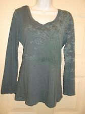 NWT NEW MISS SIXTY M60 TOP MEDIUM ORGANIC COTTON