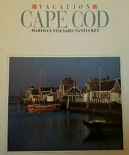 CAPE COD , MARTHAS VINYARD AND NANTUCKET-VACATION HARD  COVER BOOK-1988/89-MINT