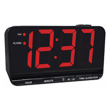 "Extra Large 3"" Display Electric LED Alarm Clock"