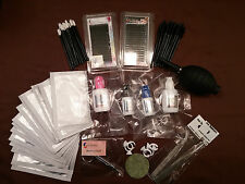 Eyelash Extensions Starter Set ~ Training and Professional Kit ~ C Curl /.20/Mix