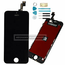 Black LCD Screen Digitizer Touch Glass Unit Apple iPhone 5S SE Replacement UK