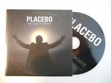 PLACEBO : FOR WHAT IT'S WORTH [ CD SINGLE PORT GRATUIT ]