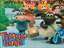 """PARTY PACK - TIMMY TIME  PERSONALIZED 10 x 7.5"""" ICING CAKE TOPPER"""