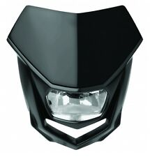 Mascherina Faro Anteriore Polisport Headlight Halo NERO Black Moto Enduro Motard