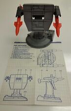 VINTAGE GI JOE 1985 AIR DEFENSE BATTLE STATION W/ BLUEPRINTS - 100% COMPLETE