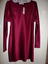 Amanda Wakeley Cranberry Red Party Dress, Brand New With Tags, Size 12