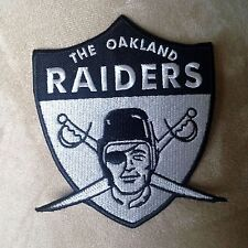 OAKLAND RAIDERS 1963 Retro Raider Nation for Life Football Iron-on Jersey PATCH!