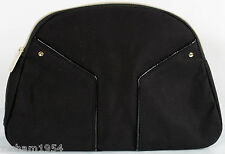 Yves Saint Laurent Cosmetic Bag pouch Makeup Bag designer case New Black L