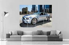 FORD MUSTANG SHELBY HERO NEED FOR SPEED Poster Grand format A0 Large Print