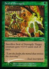 Seal of strength FOIL | ex | Nemesi | Magic MTG
