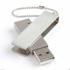 8GB Stainless Steel Metal USB 2.0 Flash Drive Memory Stick Chrome 01-087 SILVER